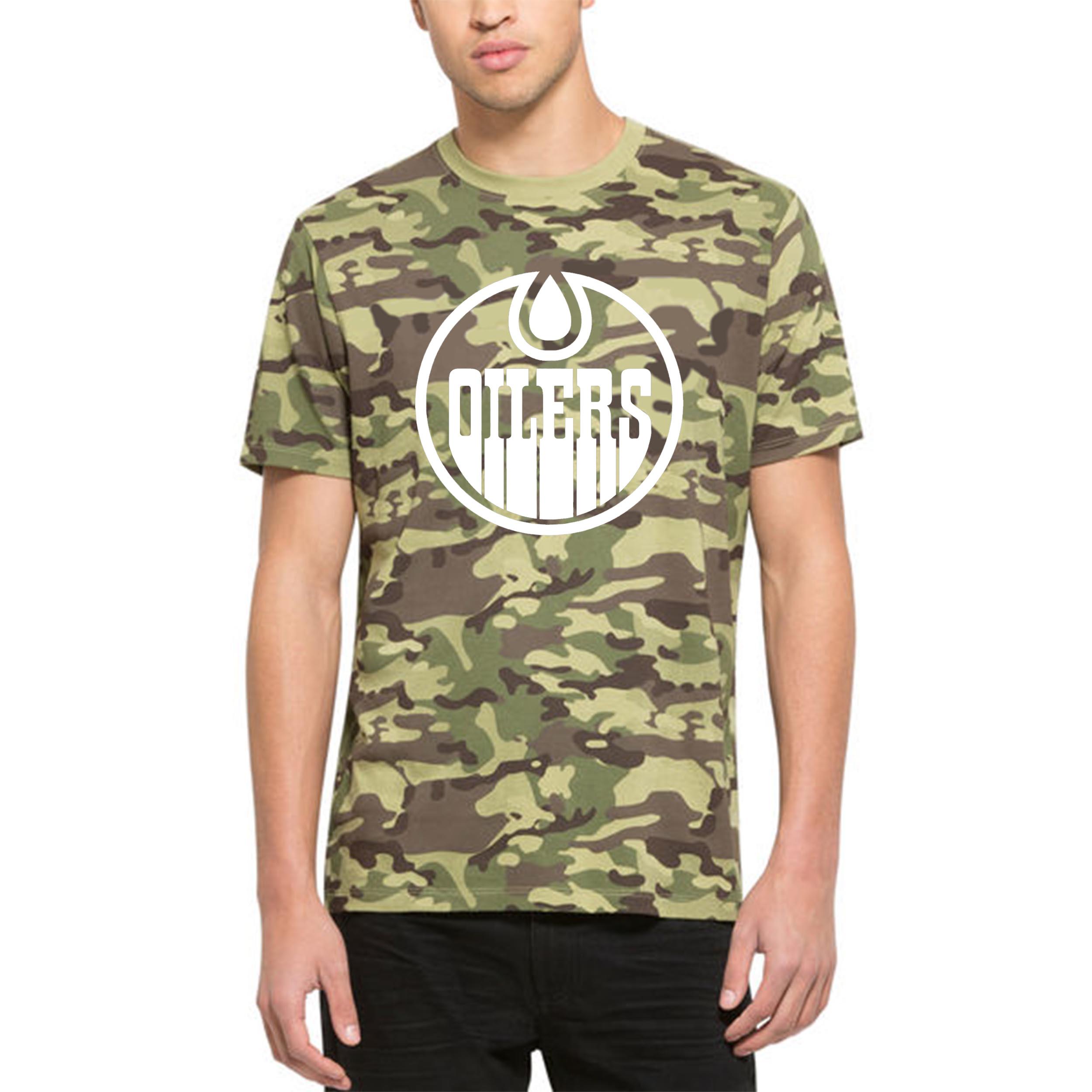 Edmonton Oilers '47 Alpha T-Shirt Camo