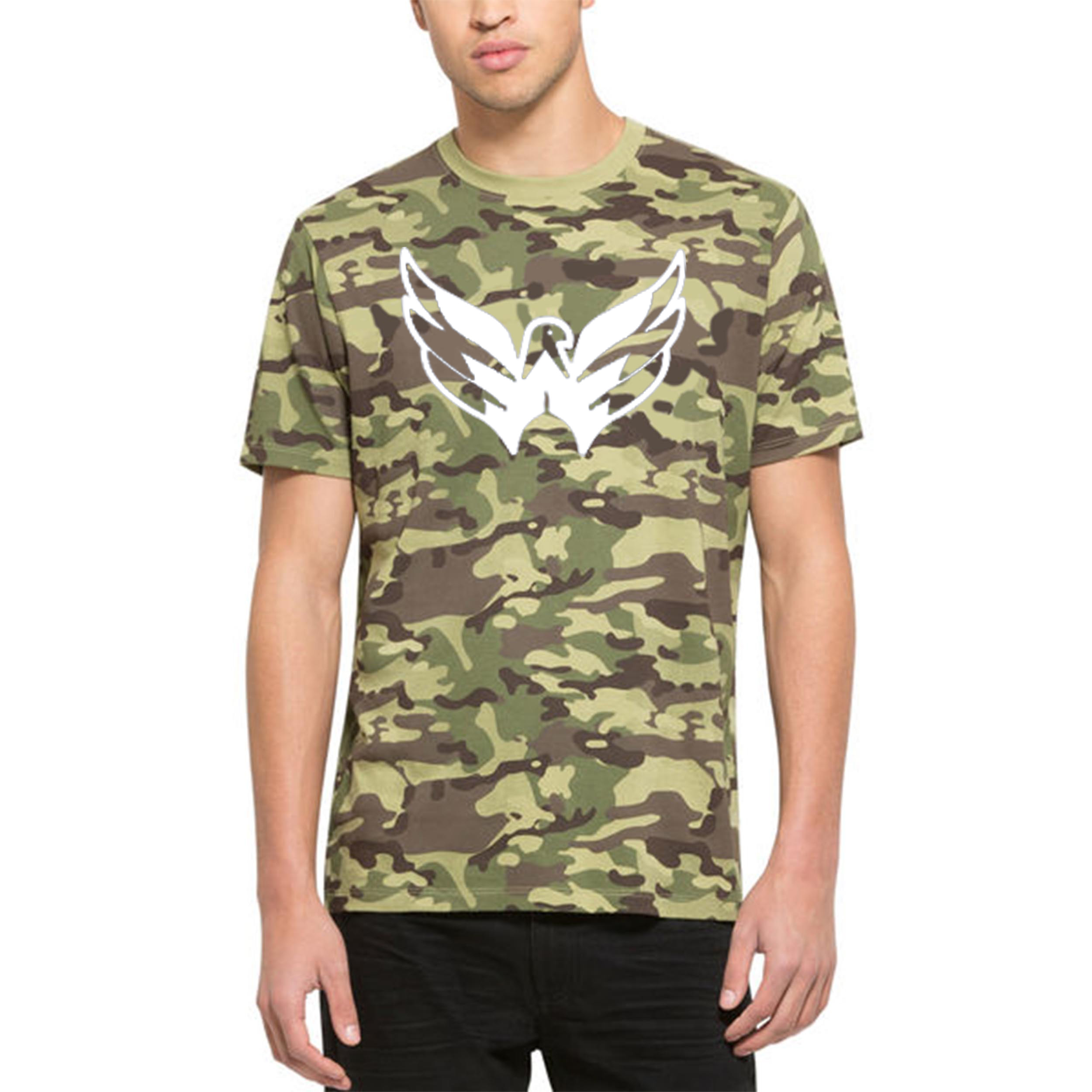 Washington Capitals '47 Alpha T-Shirt Camo