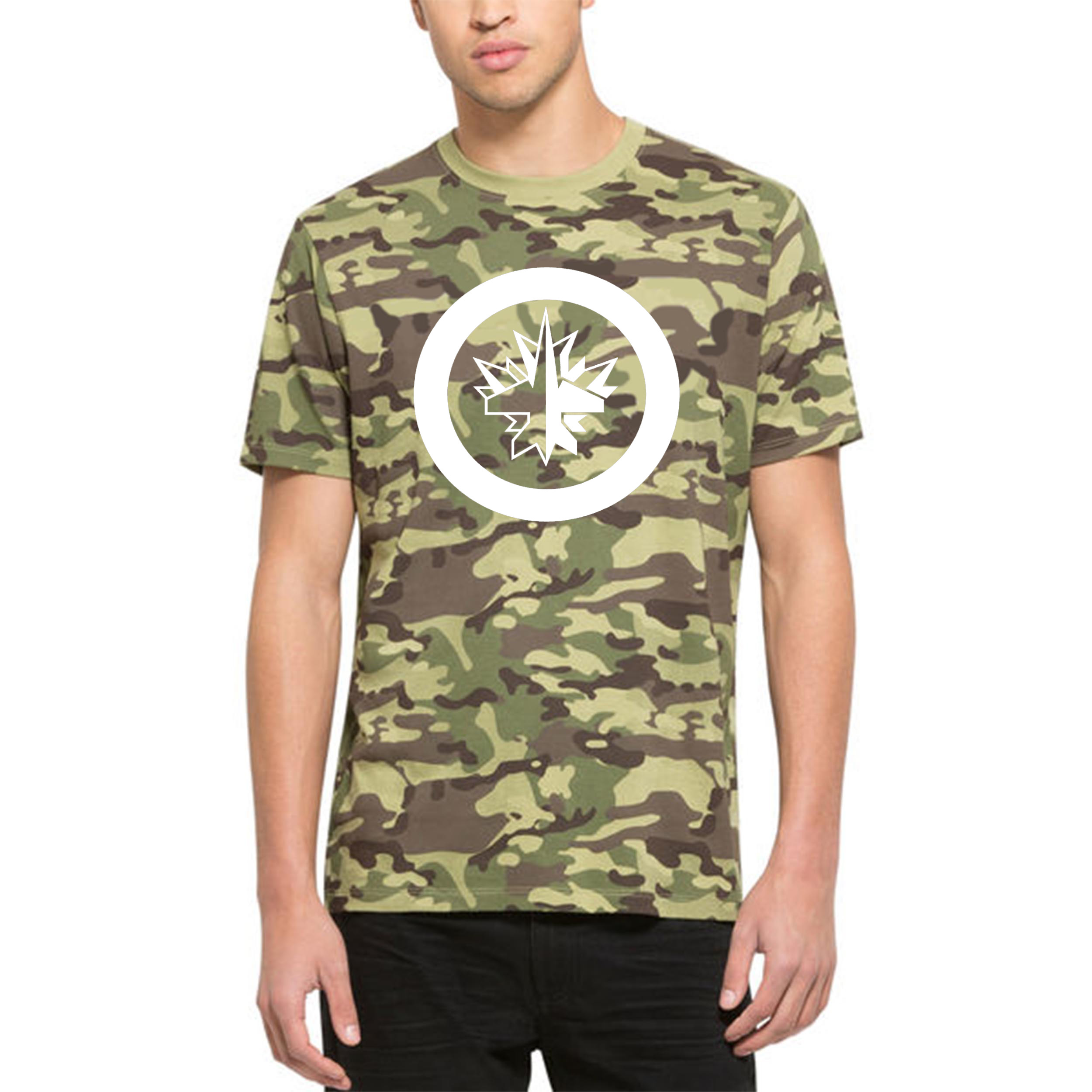 Winnipeg Jets '47 Alpha T-Shirt Camo