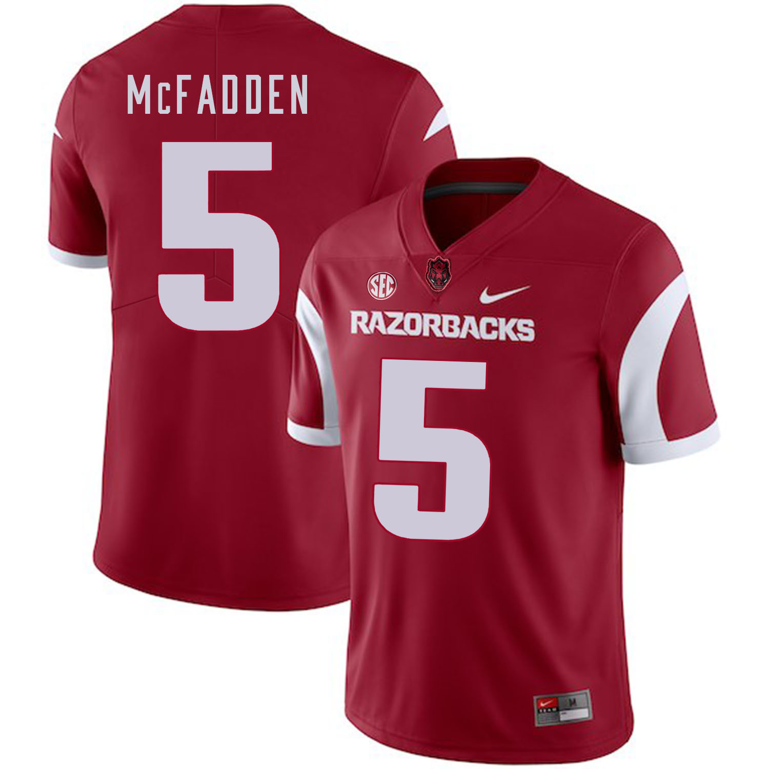 Arkansas Razorbacks 5 Darren McFadden Red College Football Jersey