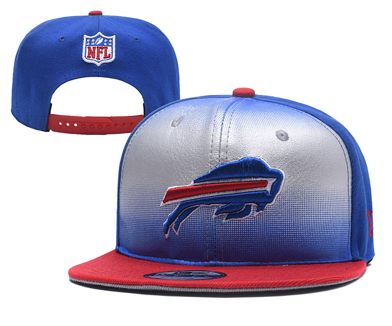 Bills Team Logo Royal Silver Adjustable Hat YD fbbcb3c36