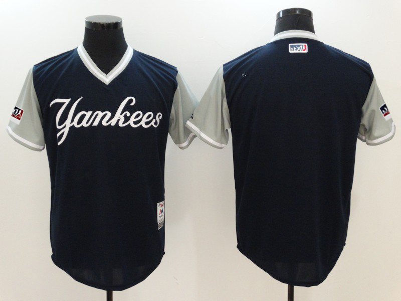 Yankees Navy 2018 Players' Weekend Authentic Team Jersey