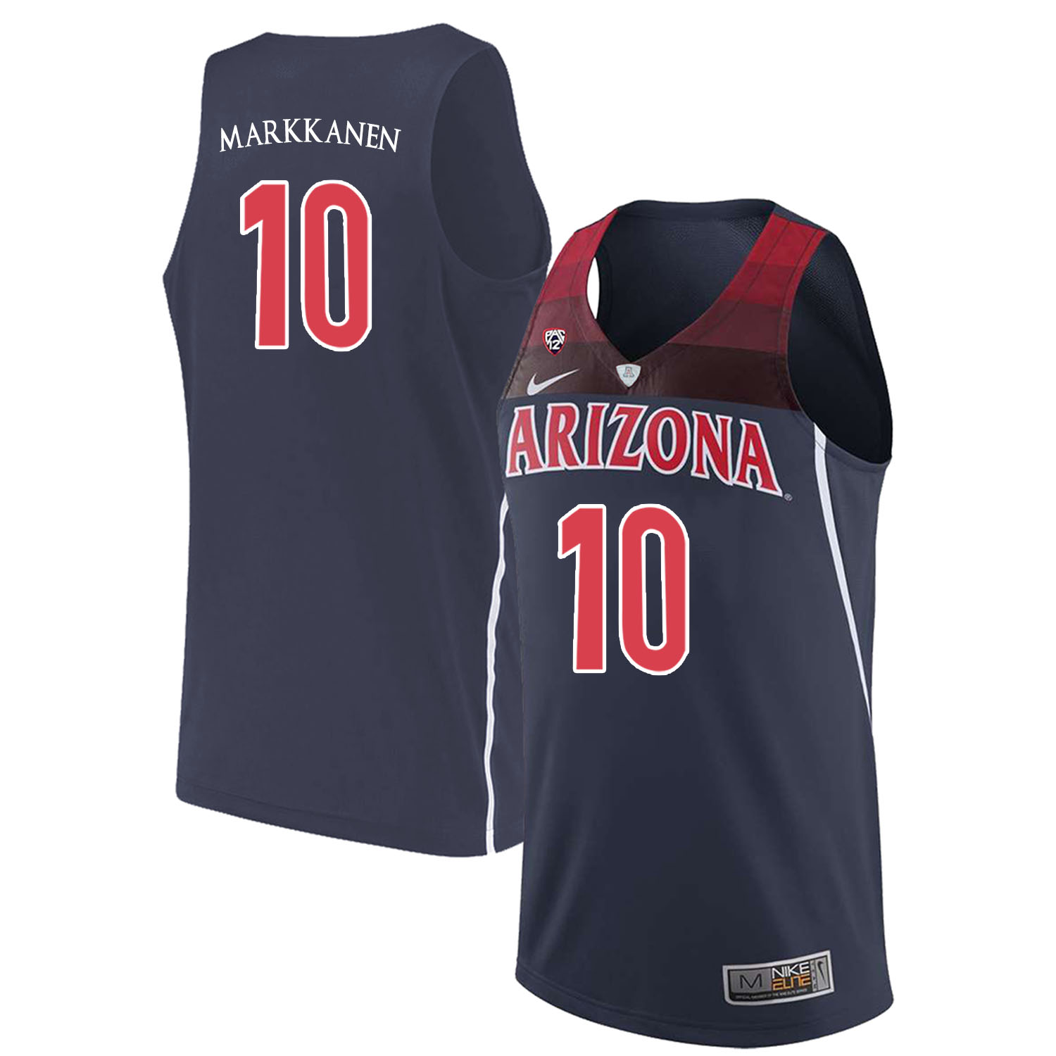 2010 Nba Draft Top Pick - John Wall Or Evan Turner Arizona Wildcats 10 Lauri Markkanen Navy College Basketball Jersey