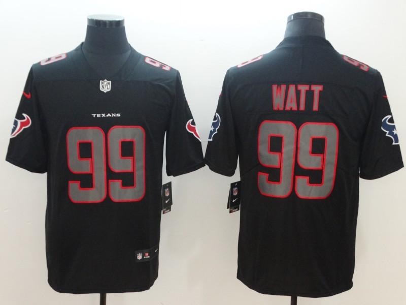 Nike Texans 99 J.J. Watt Black Vapor Impact Limited Jersey