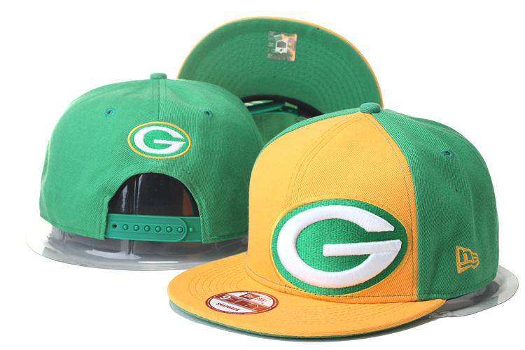 Packers Fresh Logo Green & Yellow Adjustable Hat GS