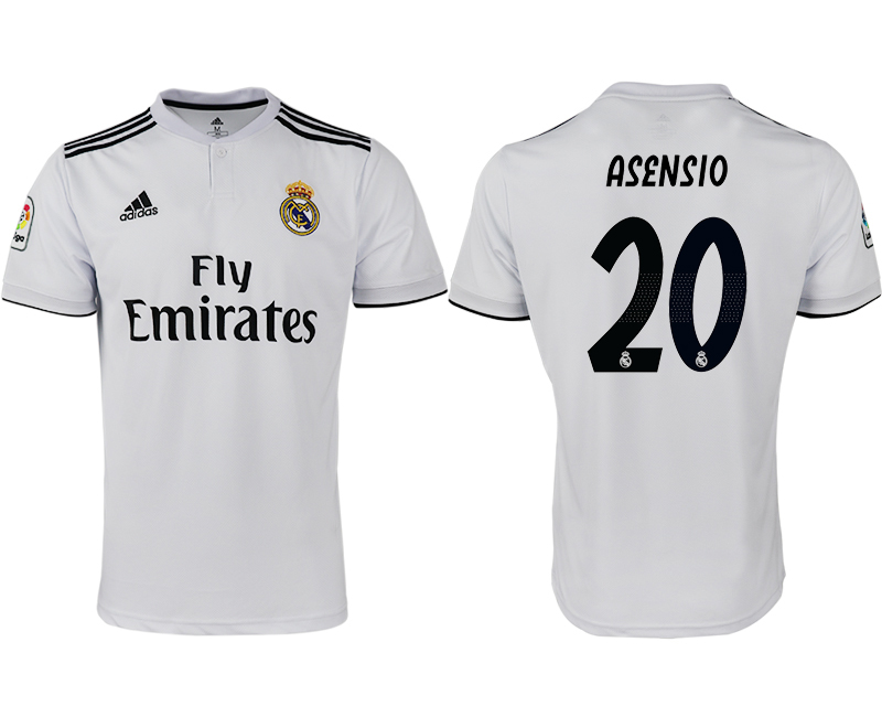 2018-19 Real Madrid 20 ASENSIO Home Thailand Soccer Jersey