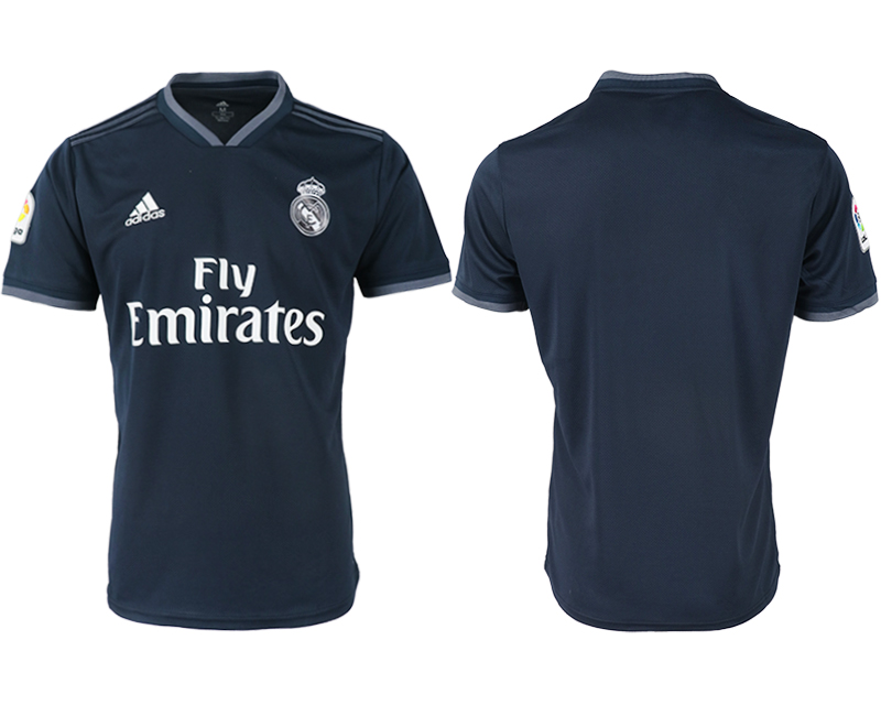 2018-19 Real Madrid Away Thailand Soccer Jersey