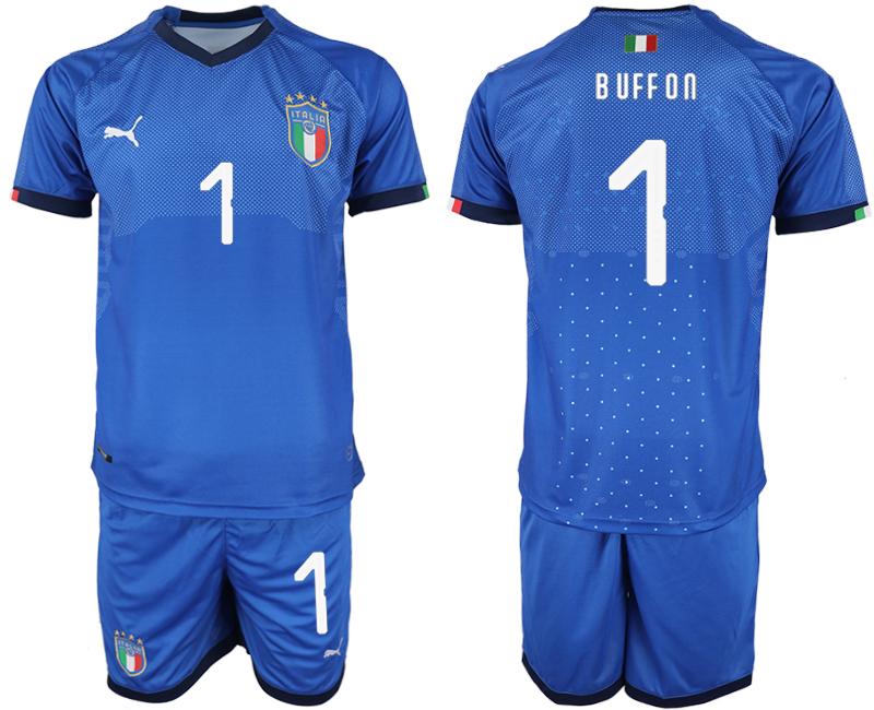 2018-19 Italy 1 BUFFON Home Soccer Jersey
