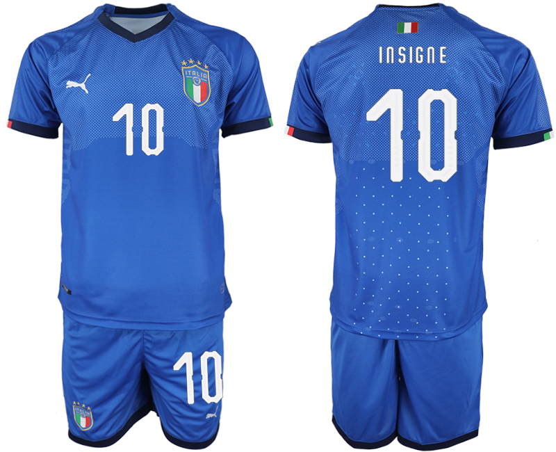 2018-19 Italy 10 INSIGNE Home Soccer Jersey