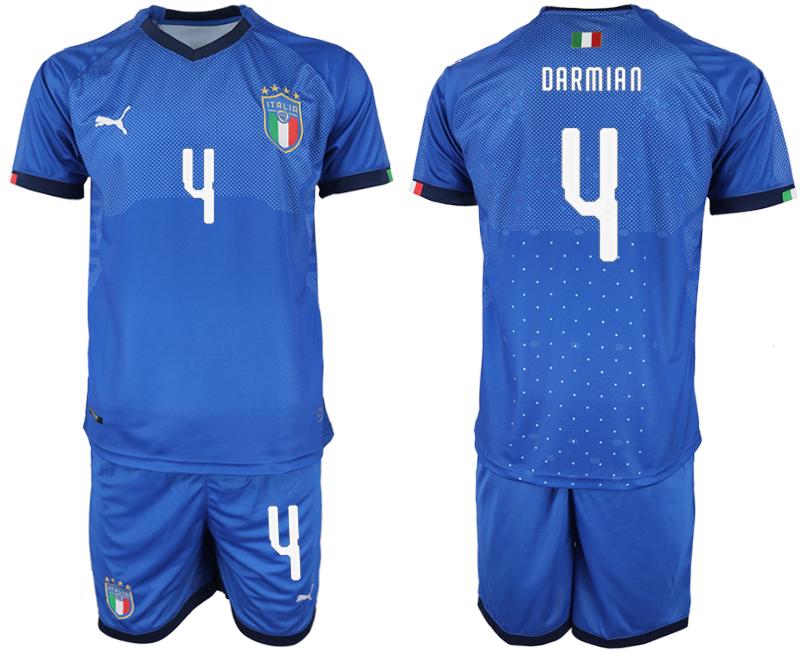 2018-19 Italy 4 DARMIAN Home Soccer Jersey