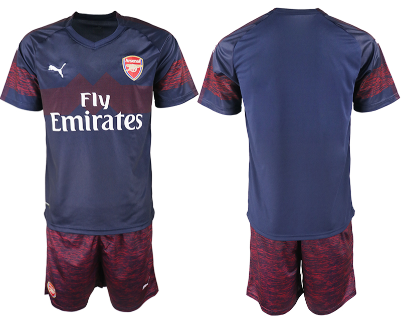 2018-19 Arsenal Away Soccer Jersey
