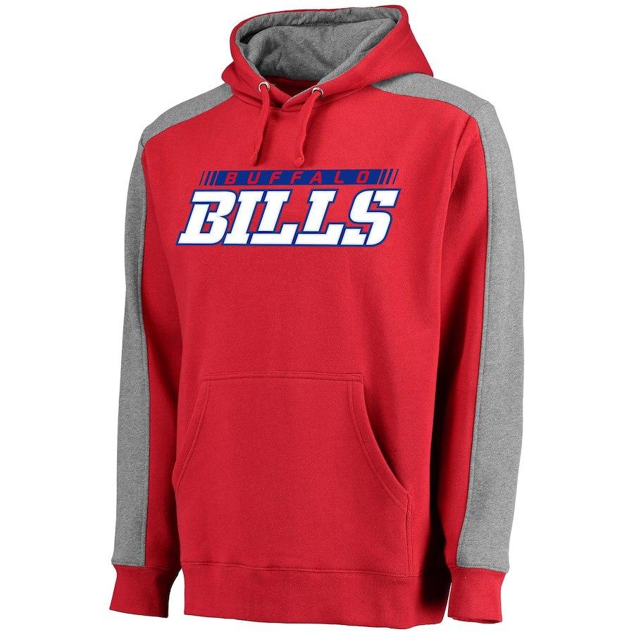 Buffalo Bills NFL Pro Line Westview Pullover Hoodie Red