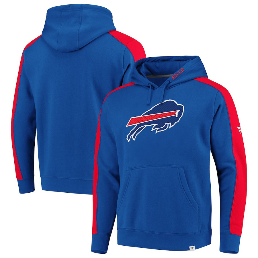 Buffalo Bills NFL Pro Line by Fanatics Branded Iconic Pullover Hoodie Royal
