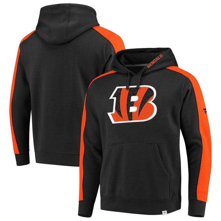 Cincinnati Bengals NFL Pro Line by Fanatics Branded Iconic Pullover Hoodie Black
