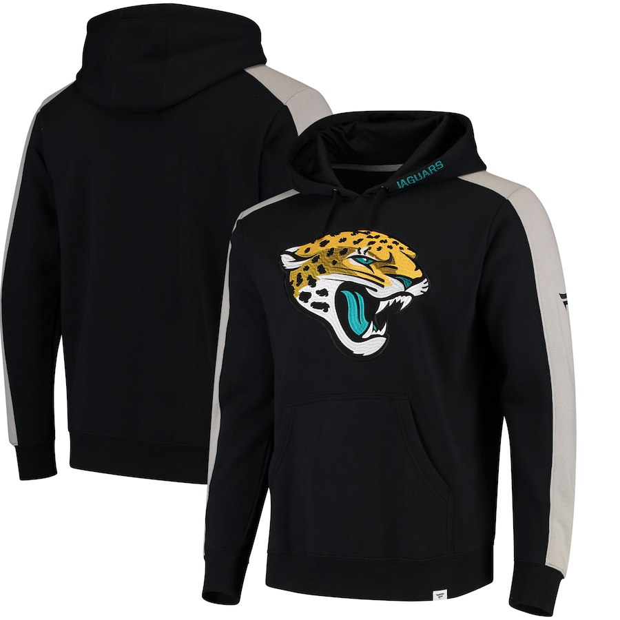 Jacksonville Jaguars NFL Pro Line by Fanatics Branded Iconic Pullover Hoodie Black