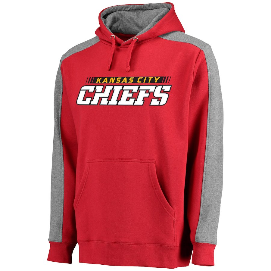 Kansas City Chiefs NFL Pro Line Westview Pullover Hoodie Red