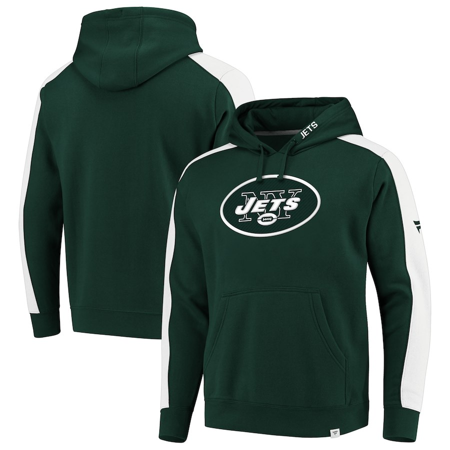 New York Jets NFL Pro Line by Fanatics Branded Iconic Pullover Hoodie Green
