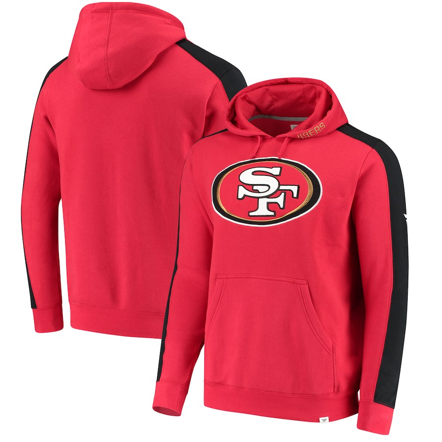 San Francisco 49ers NFL Pro Line by Fanatics Branded Iconic Pullover Hoodie Red