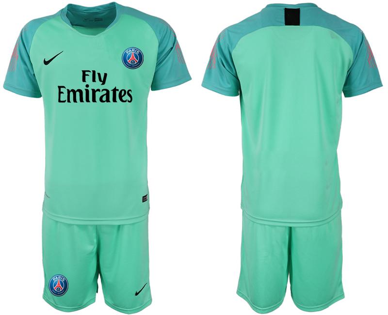 2018-19 Paris Saint-Germain Home Green Goalkeeper Soccer Jersey