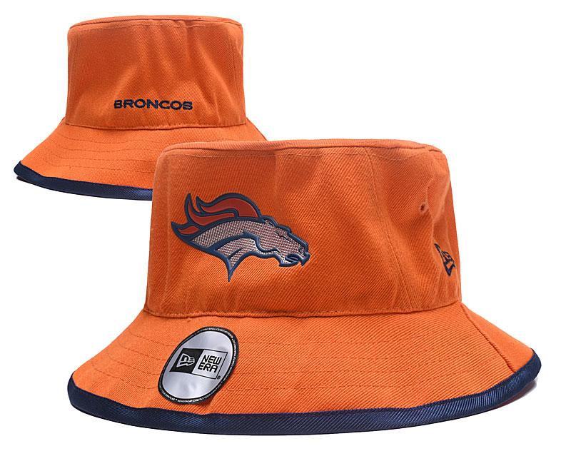 Broncos Team Logo Orange Wide Brim Hat YD