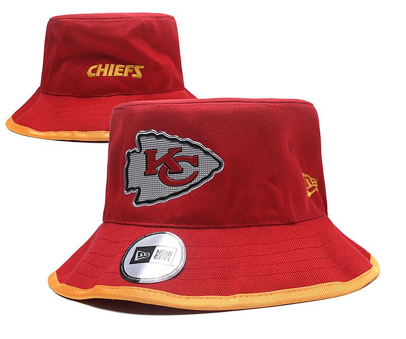 Chiefs Team Logo Red Wide Brim Hat YD