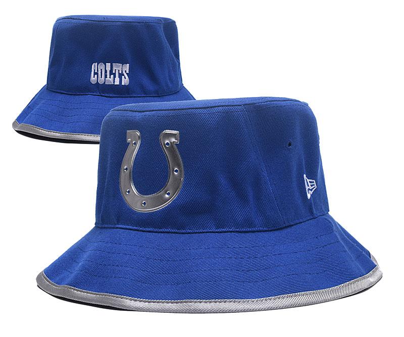 Colts Team Logo Royal Wide Brim Hat YD