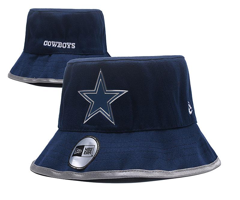 Cowboys Team Logo Navy Wide Brim Hat YD