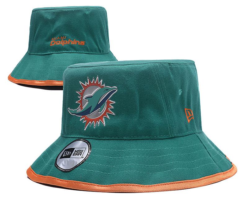 Dolphins Team Logo Aqua Wide Brim Hat YD