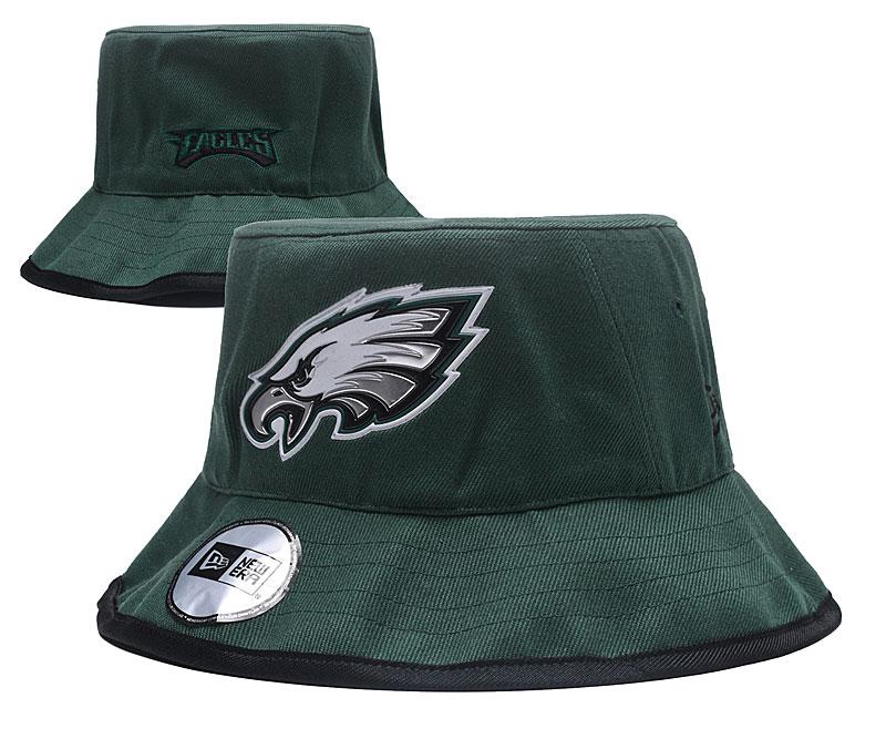 Eagles Team Logo Green Wide Brim Hat YD