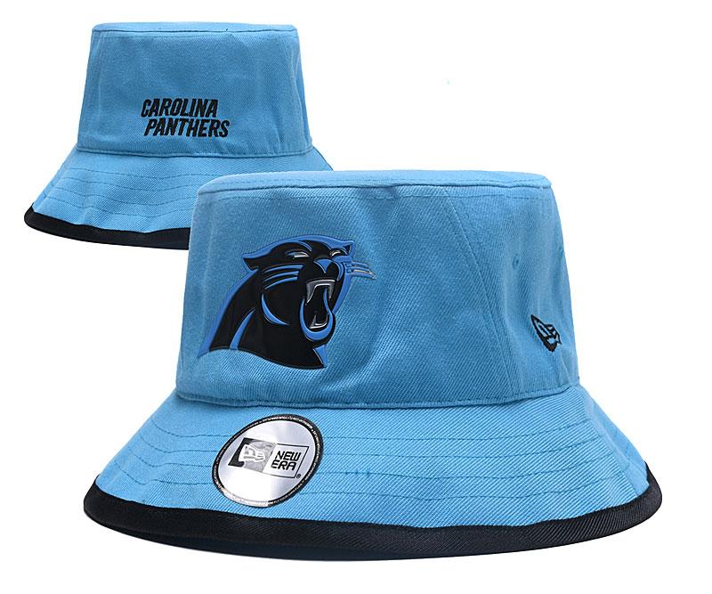 Panthers Team Logo Blue Wide Brim Hat YD