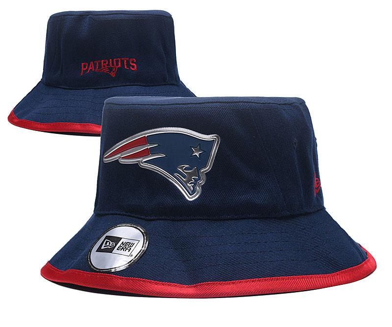 Patriots Team Logo Navy Wide Brim Hat YD