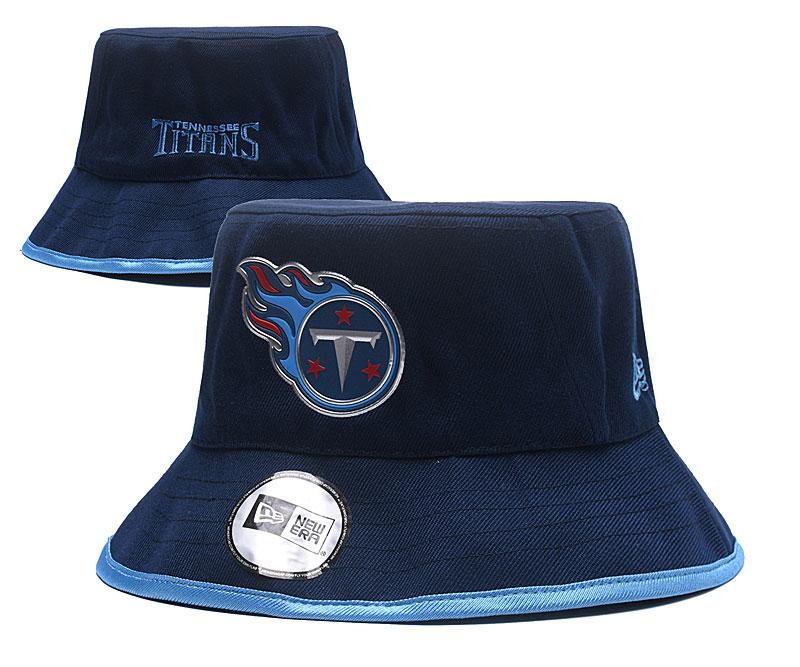 Titans Team Logo Navy Wide Brim Hat YD