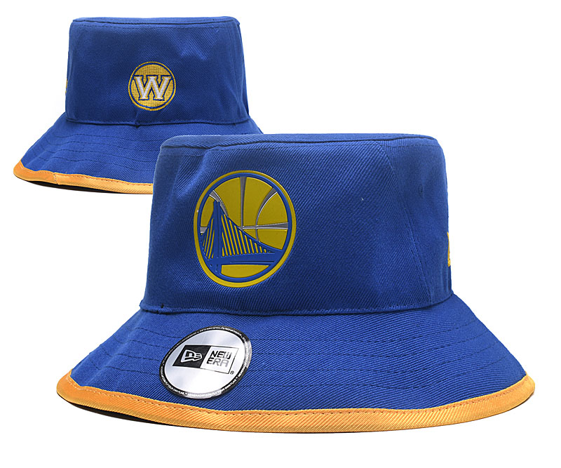 Warriors Team Logo Royal Wide Brim Hat YD