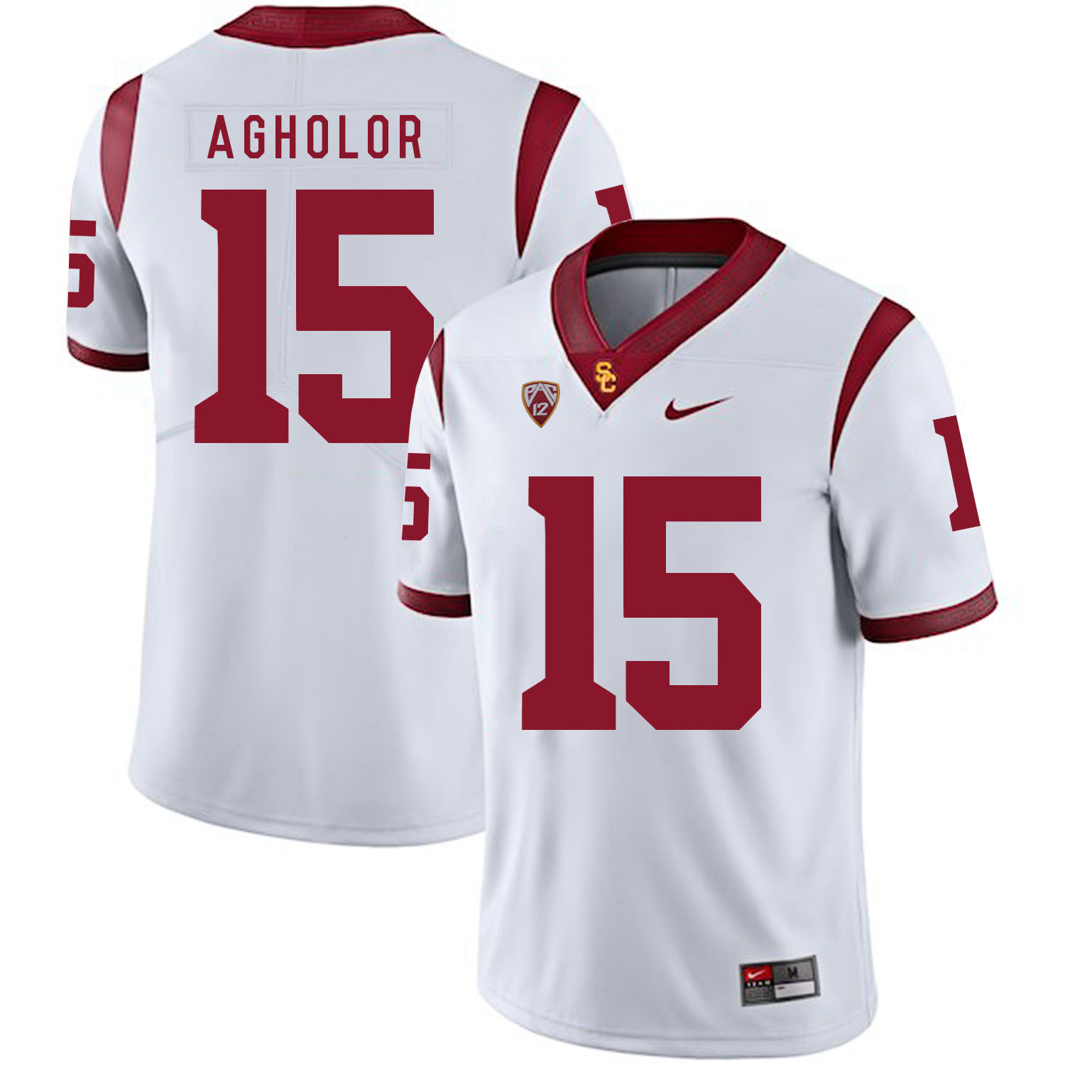 USC Trojans 15 Nelson Agholor White College Football Jersey