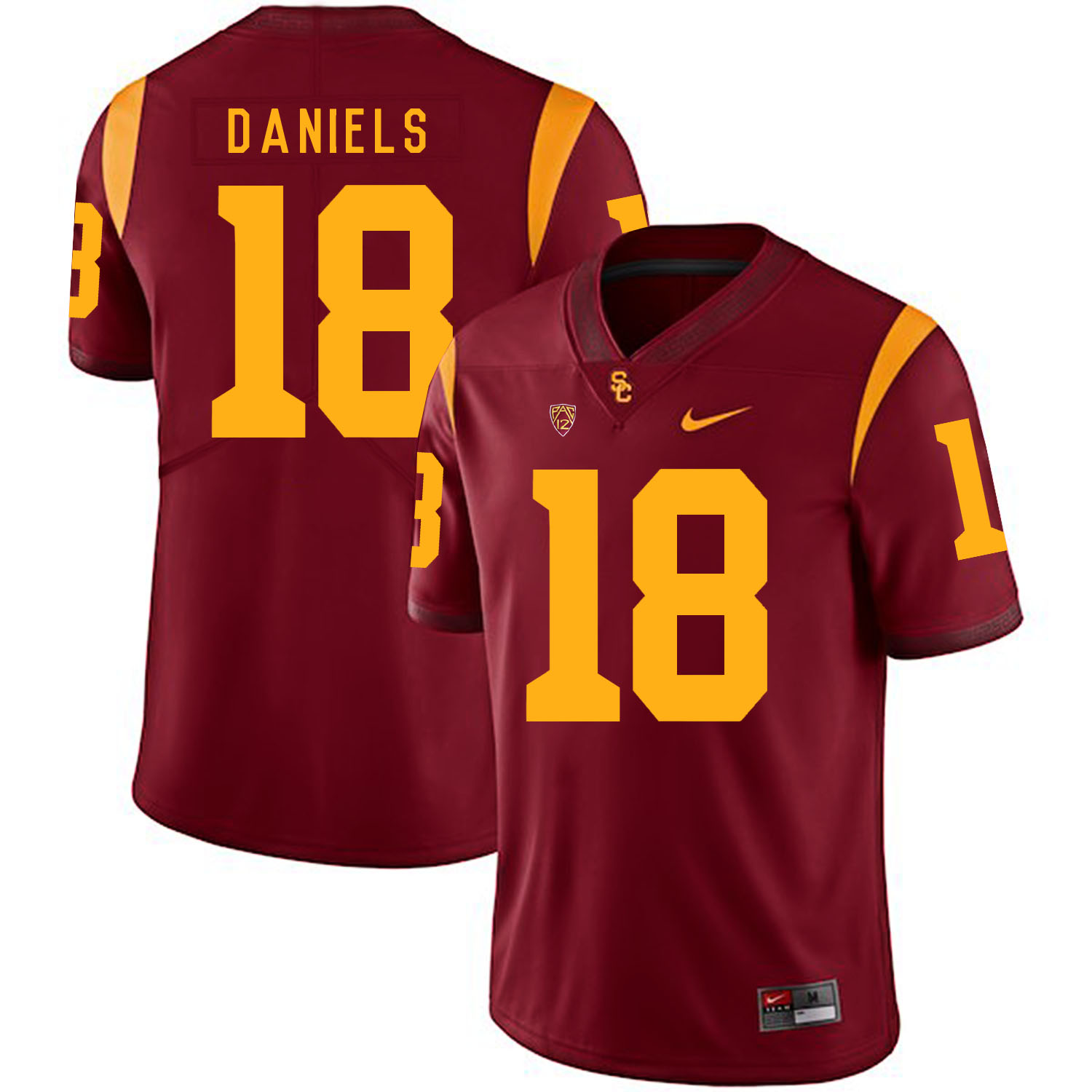 USC Trojans 18 JT Daniels Red College Football Jersey