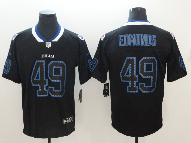 Nike Bills 49 Tremaine Edmunds Black Shadow Legend Limited Jersey
