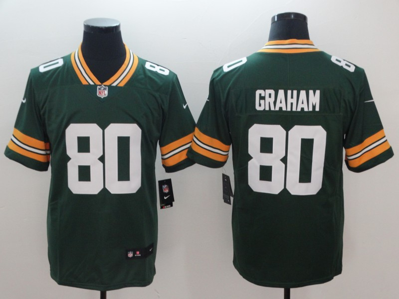Nike Packers 80 Jimmy Graham Green Vapor Untouchable Limited Jersey