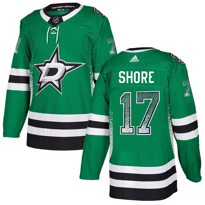 Stars 17 Devin Shore Green Drift Fashion Adidas Jersey