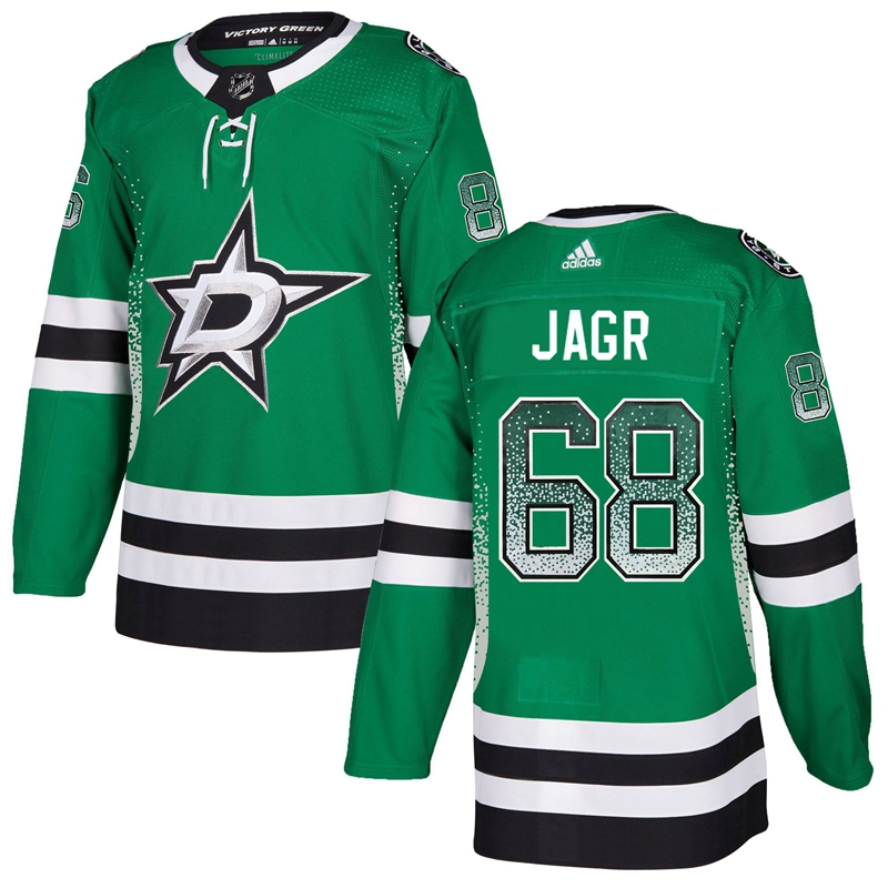 Stars 68 Jaromir Jagr Green Drift Fashion Adidas Jersey