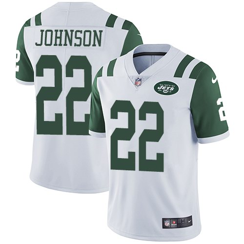 Nike Jets 22 Matt Forte White Youth Vapor Untouchable Limited Jersey