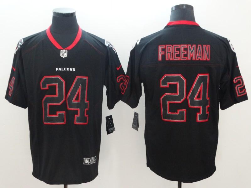 Nike Falcons 24 Devonta Freeman Black Shadow Legend Limited Jersey