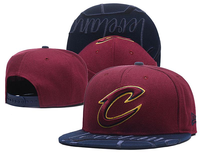 Cavaliers Team Logo Red Adjustable Hat GS