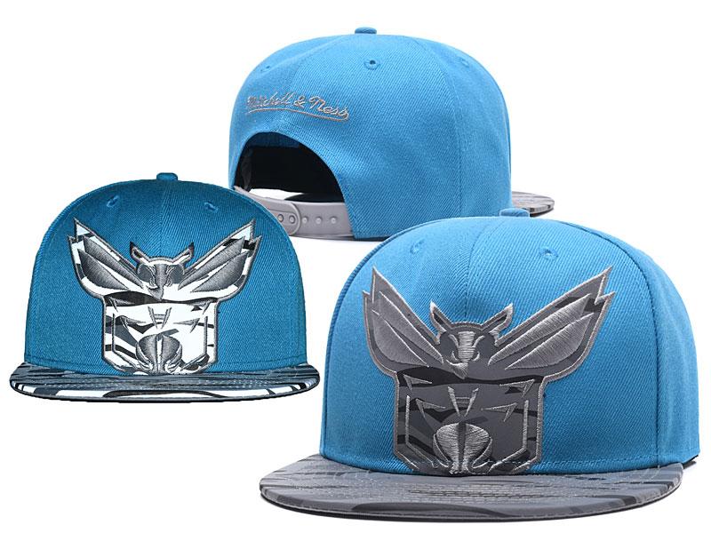 Hornets Reflective Logo Blue Adjustable Hat GS