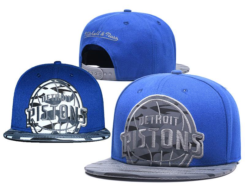 Pistons Reflective Logo Royal Adjustable Hat GS