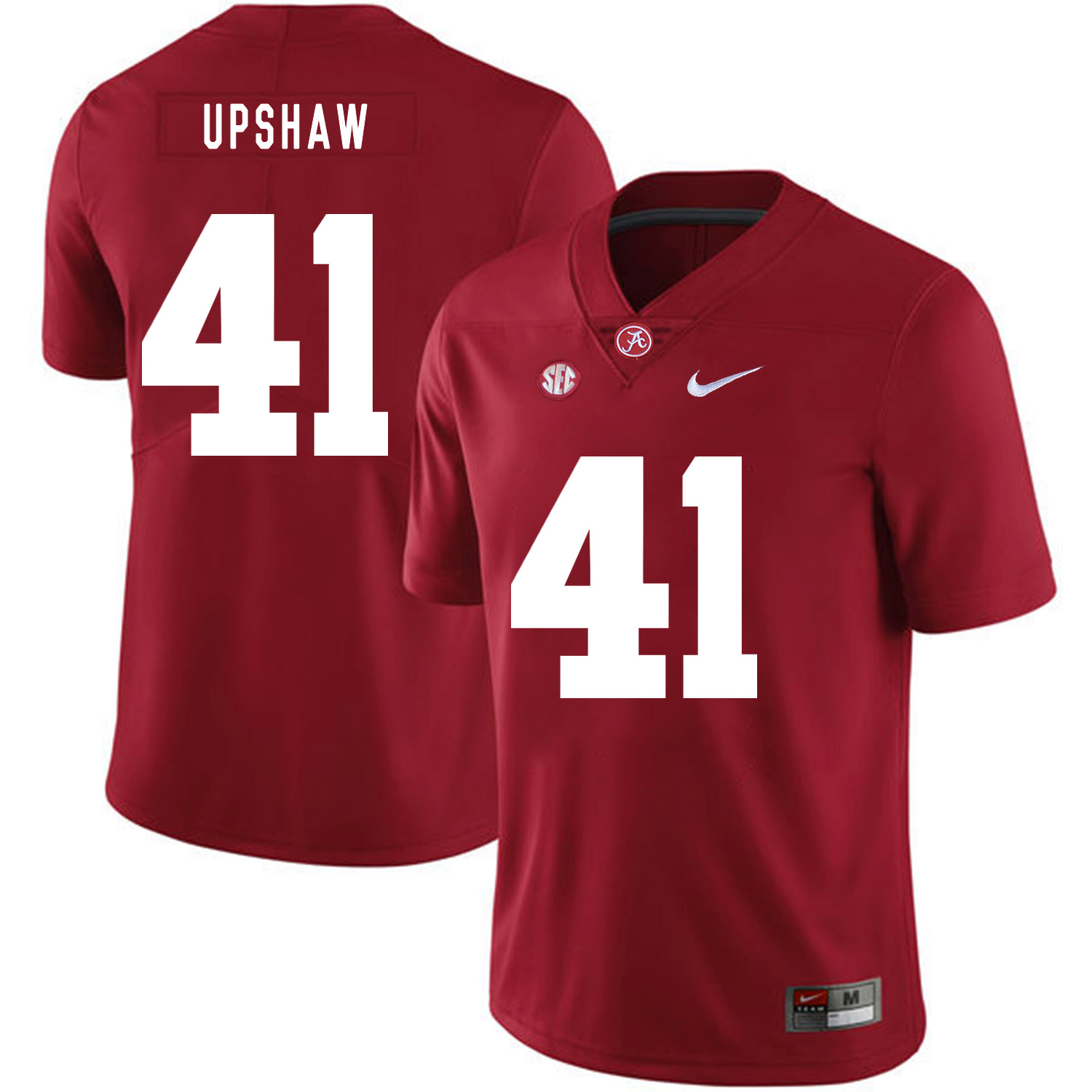 Alabama Crimson Tide 41 Courtney Upshaw Red Nike College Football Jersey