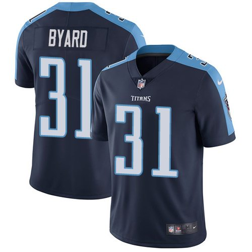 Nike Titans 31 Kevin Byard Navy Youth Vapor Untouchable Limited Jersey