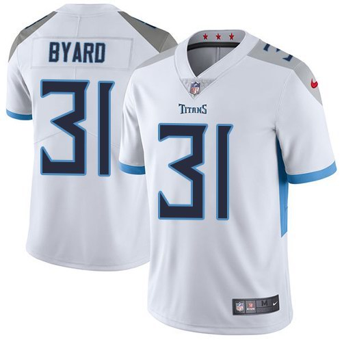 Nike Titans 31 Kevin Byard White Youth New 2018 Vapor Untouchable Limited Jersey