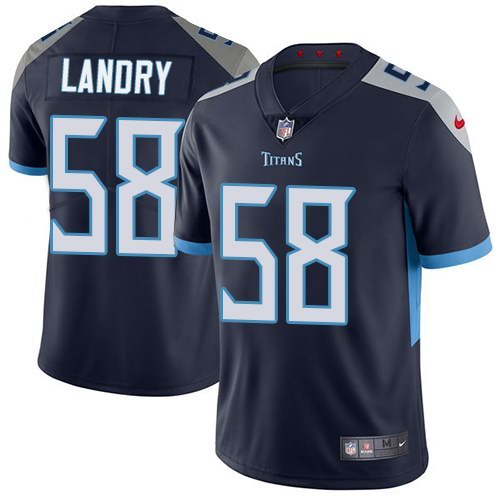 Nike Titans 58 Harold Landry Navy Youth New 2018 Vapor Untouchable Limited Jersey