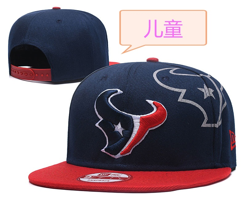 Texans Team Logo Navy Youth Adjustable Hat GS