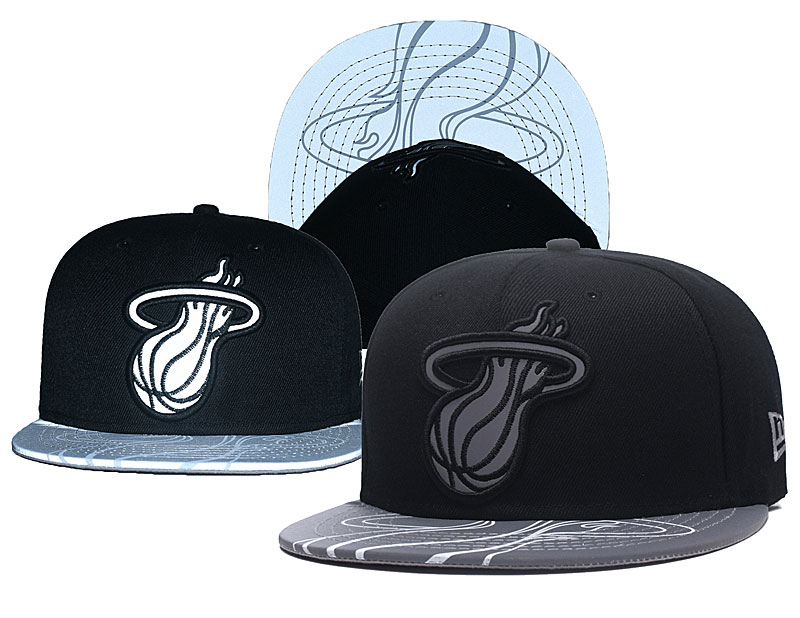Heat Reflective Logo Black Adjustable Hat GS